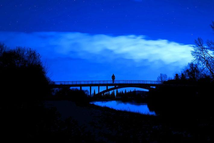 Gece yolcusu